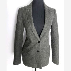 Banana Republic Tweed Hacking Jacket Blazer